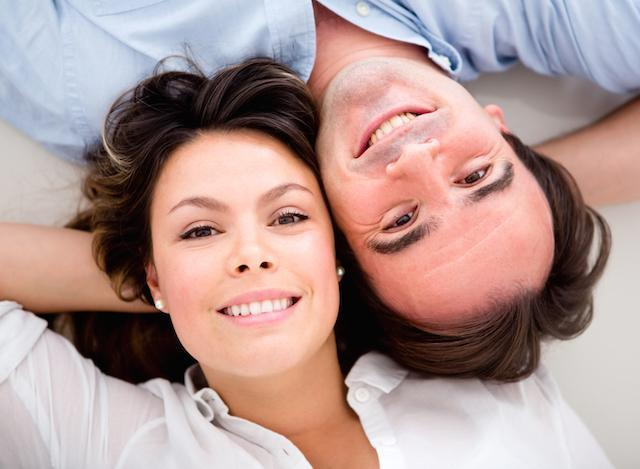 Couple smiling | Dentist Barrie ON