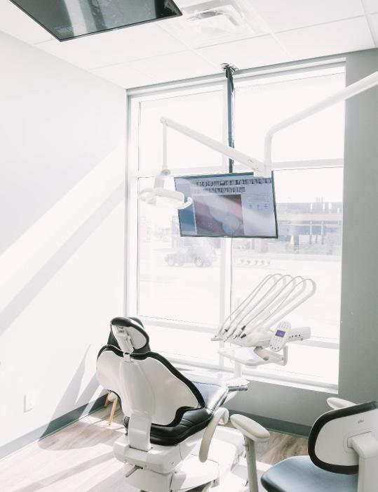 dental chair in office | Dentist Barrie ON