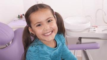 Smiling Child in Dental Chair | Barrie ON Dentist