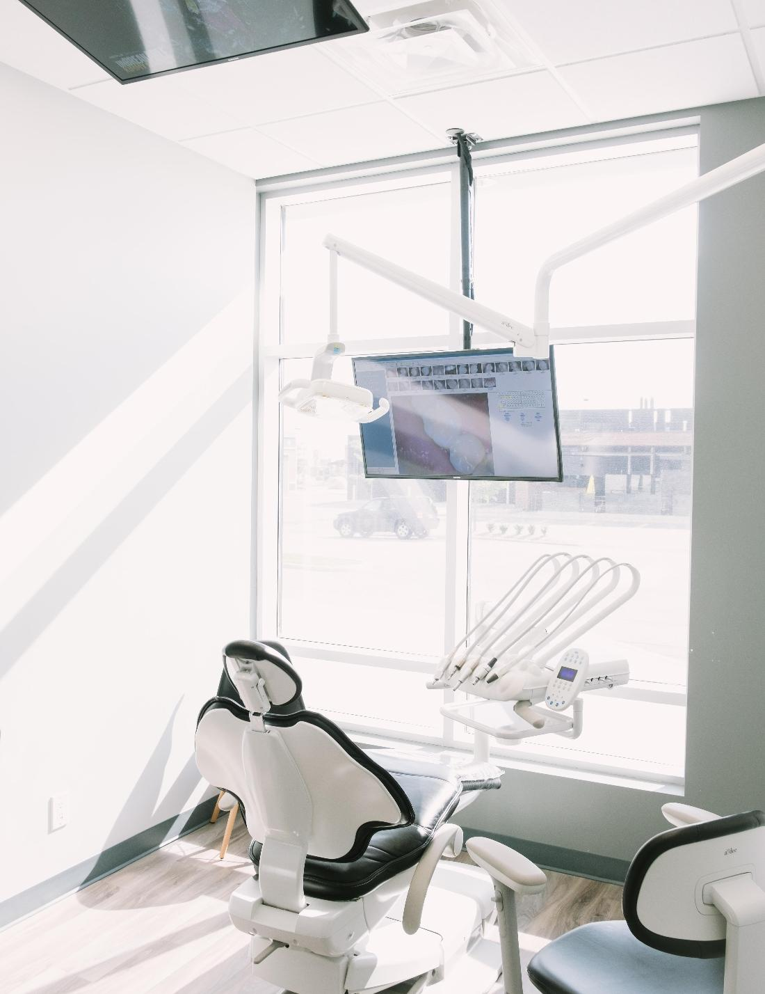 Dental chair in clinic | Barrie ON Dentist